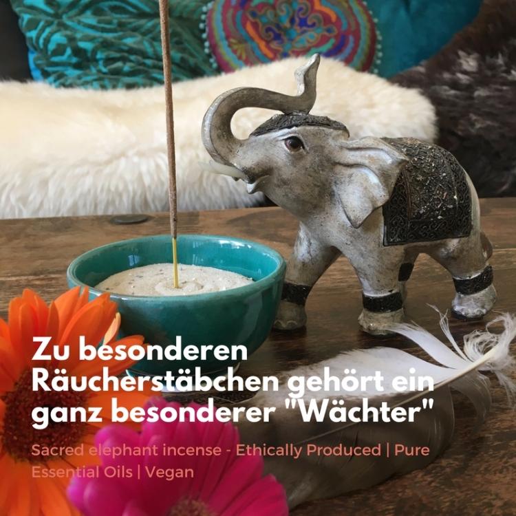Sacred elephant incense & ddieser ganz besondere Deco