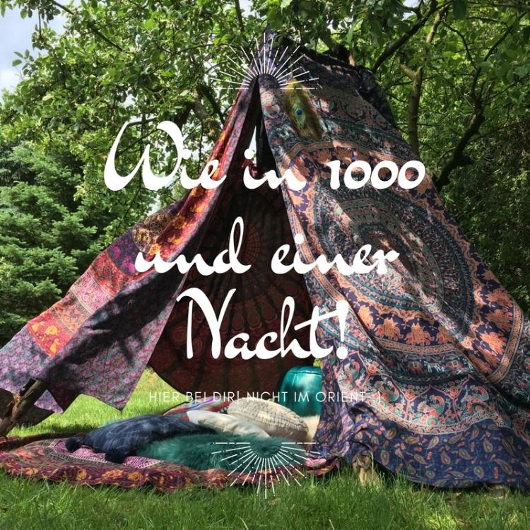 Wie in 1000und einer Nacht!