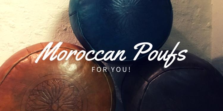 Moroccan Poufs